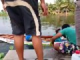Homemade Speed Boat