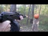 How To Carve A Pumpkin With An AK47