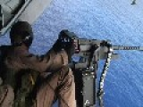 Helo Shoot - Live Fire .50 Cal Machine Guns
