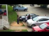 HOOD FIGHT In NORTH CAROLINA = Redneck Threatens With A Bat =