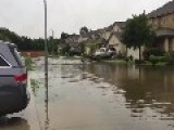 Houston Resident Opts For Kayak After Major Storms