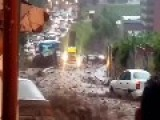 Heavy Rain In The Favela Venezuela