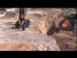 Homs - Al Qaryateyn Martyrs Brigade Blow Up Gas Pipeline Of The Alawite Occupation