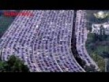 Huge Traffic Jam In China