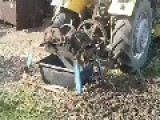 Home Made Branch Shredder