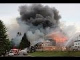 Huge Structure Fire In White Rock, BC Canada