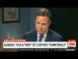 Hillary Clinton Laughs When Jake Tapper Asks About Her Email Server