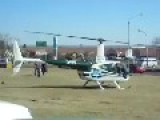 Helicopter Crash In Kroonstad, South Africa Caught On Camera!