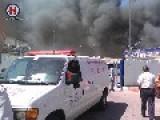 Huge Prison Blaze