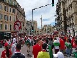Hungarian Fans Chant Support For Poland In Marseille