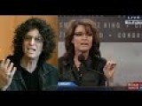Howard Stern On Sarah Palin Being An Idiot - 01 28 2015