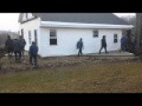 How Many Amish People Does It Take To Move A House?
