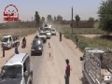 Huge Convoy Of Rebell Tribe Affiliated To Majlis Shura Al-Mujahideen Enters Al-Shuhyal In Deir Ez-Zur
