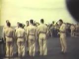 Hellcats Land On USS Yorktown CV-10 & Burial At Sea, 01 1945 Full