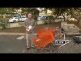 Hawaiian Democrat Congressman Smashes Homeless Peoples' Carts With Sledgehammer