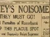History Of Sydney, Australia-Razorhurst 1920s-1930s