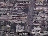 Hollywood Bank Shootout Raw Helicopter Footage