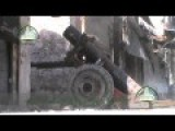 Hell Cannon Fired In Aleppo