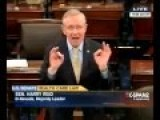 Harry Reid Says He Never Called ObamaCare Stories Lies