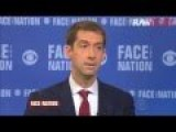 Huh? Tom Cotton Says Iran Must Be Stopped Because 'they Already Control Tehran'