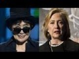 Hillary Clinton And Yoko Ono Were Lesbian Lovers And I Have The Video