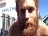 Homeless Man Does Breaking Bad Impressions For Food