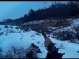 Helmet Cam Combat Footage: Ukrainian Troops In Short Firefight With Novorossian Rebels