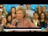 Hillary Sinking In The Polls