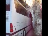 How To Pass From Small Historic Tunnel With Huge Bus