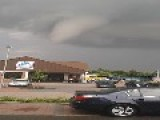 Hamburg Tornado Looms Over Grocery Store