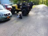 Honda Towing Lifted Jeep Gone Wrong