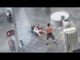 Homeless Man Randomly Attacks People In Broad Daylight 16th Street Mall Denver Colorado