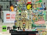 Hungary: Budapest Gets World's Tallest Lego Tower