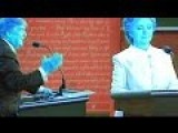 Hillary Teleprompter CHEAT? Debate Liar's Hidden Screen CAUGHT On NBC!