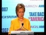 Hillary Clinton Complains About Secret Email Accounts 6 2007