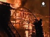Huge Apartment Blaze Closes Major LA Freeways