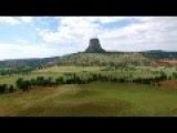 HD Drone Video Of Devils Tower WY