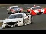 Honda NSX Concept GT Car Track Debut