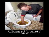How To UNCLOG A TOILET == Without A Plunger Or Snake