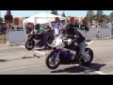 Honda CBR 600 Vs Superbike BMW 1000 Rr