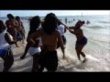 Hoe Brawl At The Beach