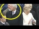 Hillary BUSTS Bill Clinton STARING At Melania TRUMP! 2017 Inauguration