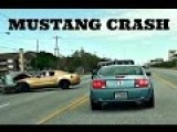 Honda Slams Into Mustang GT Car Crash *HD*