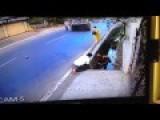 Horrible Motorcycle Crash