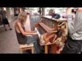 Homeless Man Plays Piano