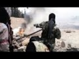 Heavy Fighting Between Rebels And The Syrian Army In Aleppo