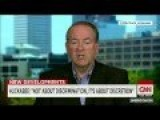 Huckabee: Businesses Bashed Indiana Because Of 'Militant Gay Community' Pressure