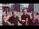 Hamburg Three Years After WW2 Color Movie