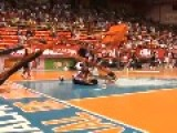 Harlem Globetrotter Dunk Fail