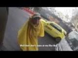 Hunchback Lady Versus Biker